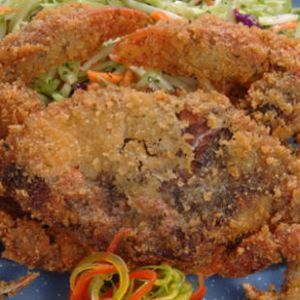 Fried Soft-Shell Blue Crab