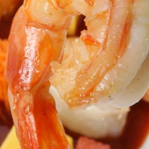 Grilled Gulf Shrimp with Mango and Orange Barbecue Sauce