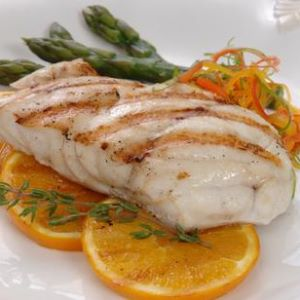 Grilled Grouper Tangerine