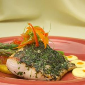 Herb-Seared Mahi Mahi