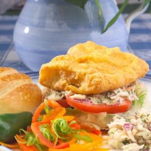 Southern Fried Gulf Mahi-Mahi Sandwiches